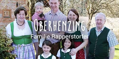 Hofkultur Partnerhof: Familie Rappersdorfer