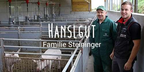 Hofkultur Partnerhof: Familie Steininger
