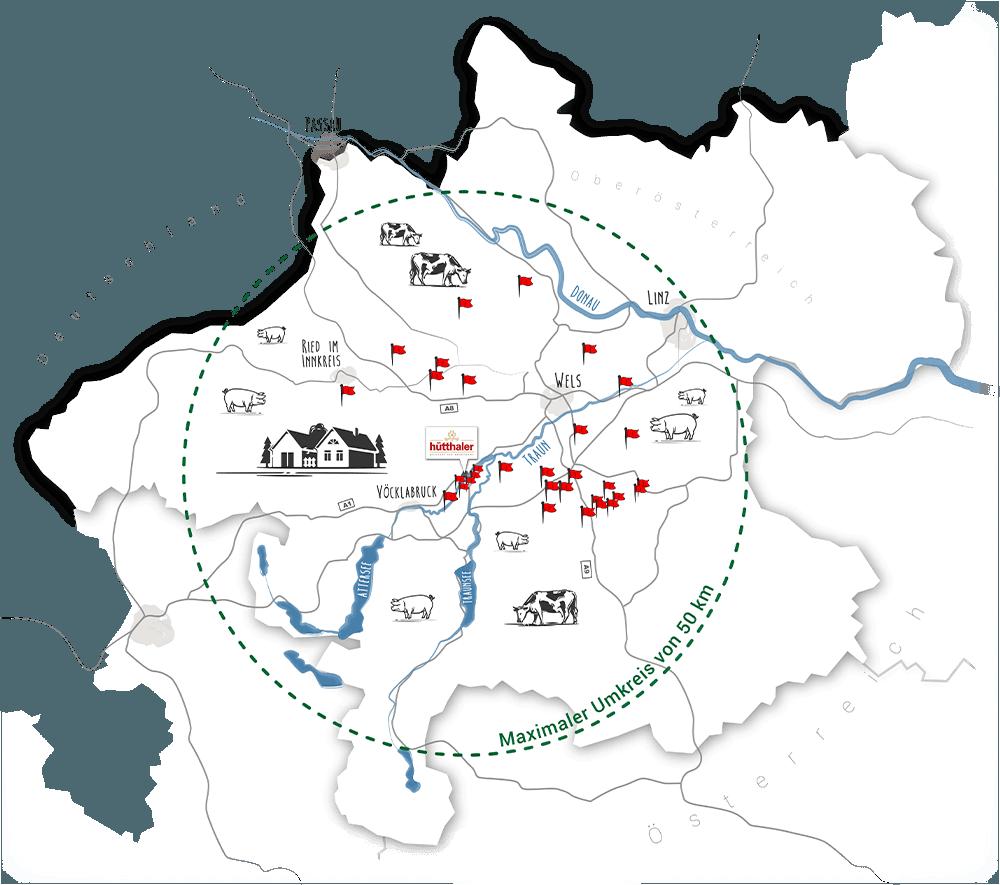 Huetthalers Hofkultur Partnerlandwirte